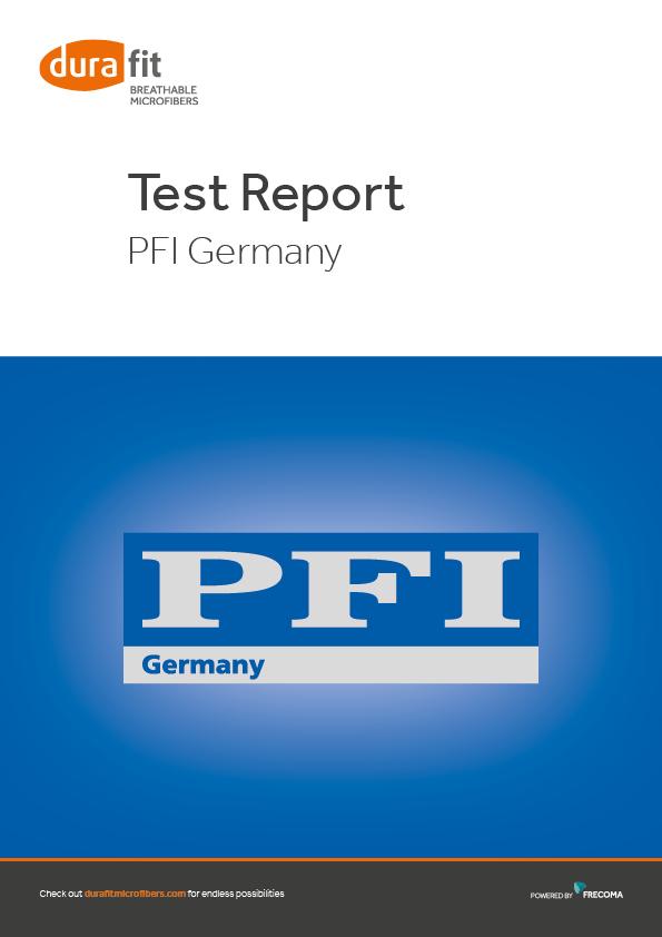 PFI Test report Englisch